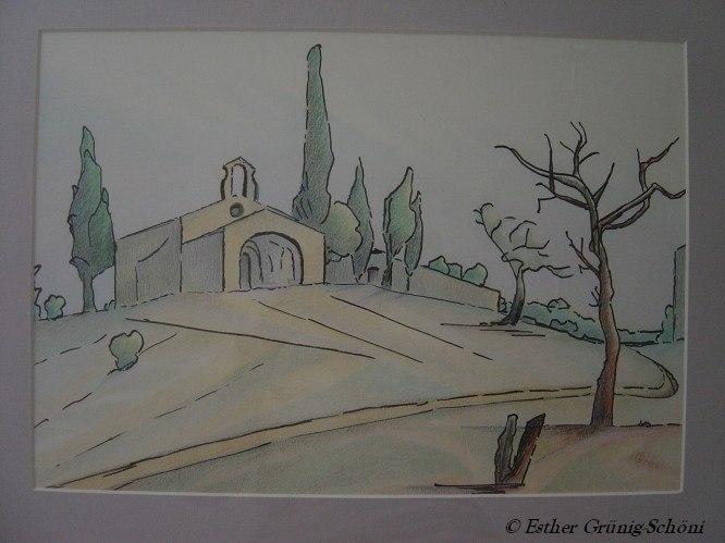 Die Kapelle von Eygaliere