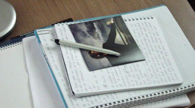 Betrachtungen zum Schreiben