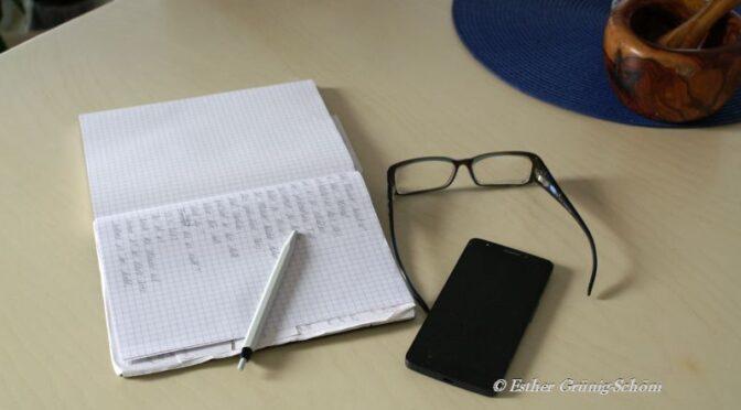 Ein Schreibrezept